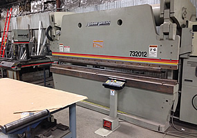 320 Ton Hydraulic Brake Press