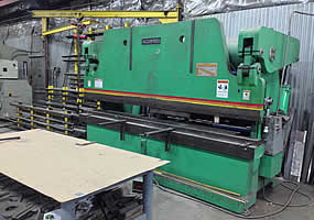 250 Ton Hydraulic Brake Press